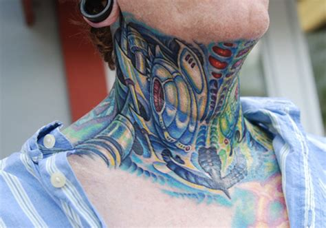40 cool neck tattoos creativefan