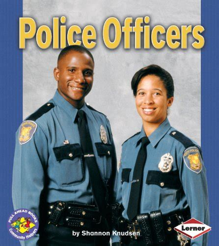 policing books officers children s books about