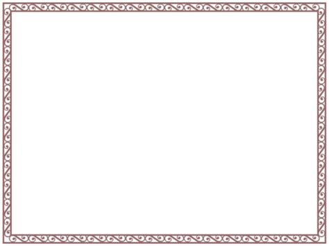 menu borders template border templates for word exle mughals