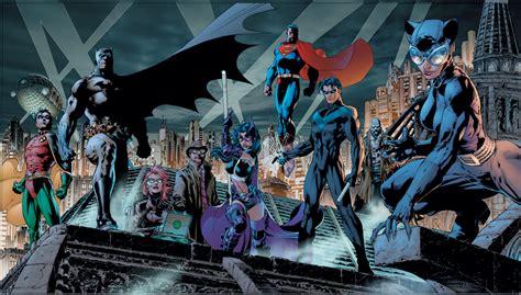 superman batman wallpaper jim lee heroes batman superman catwoman hush limited edition