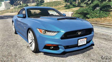 Gta 5 Autos Mustang by Ford Mustang Gt 2015 Para Gta 5