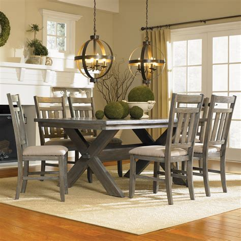 Dining Table Grey Oak Powell Turino Rectangle Dining Table In Grey Oak Beyond