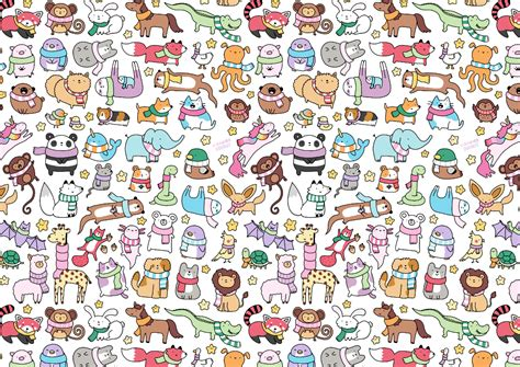 doodle in animal doodles kirakiradoodles