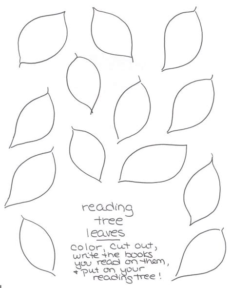 printable leaves for family tree best photos of family tree cut out paper tree cut out