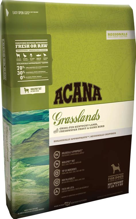 acana puppy food acana grasslands grain free food made in usa