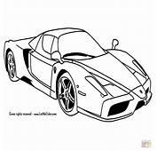 Het Beste Van Cars Auto Kleurplaat
