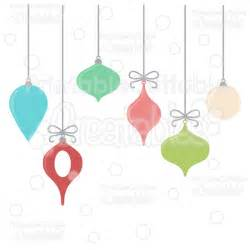 hanging christmas ornaments free svg cut files clipart