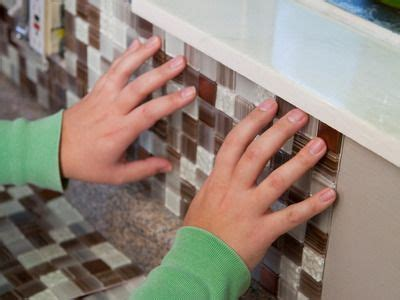 How To Install Peel And Stick Backsplash Tile Boxes A Backsplash In A Box