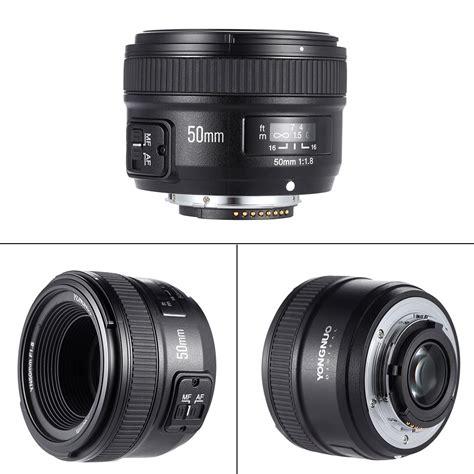 Lensa Nikon Lazada yongnuo yn50mm f1 8 besar bukaan af auto fokus lensa dx fx