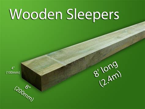 Sleeper Wood by Wooden Sleepers Bentinck Fencing
