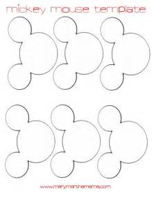 Mickey Mouse Template by 6 Best Images Of Mickey Mouse Template Mickey Mouse