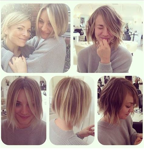 kaley cuoco why did she cut her hair why did kaley couco cut hair kaley cuoco short straight