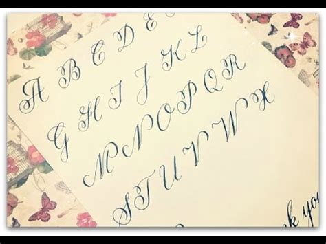 copperplate calligraphy how to write calligraphy letters