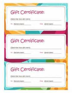 gift certificate template open office birthday gift certificate template free printables