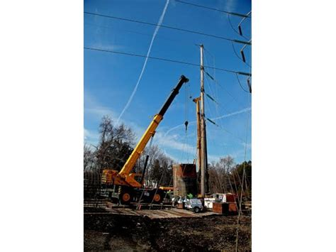 New Jersey Central Power And Light by Jcp And L Building New 16 Mile Transmission Line Patch