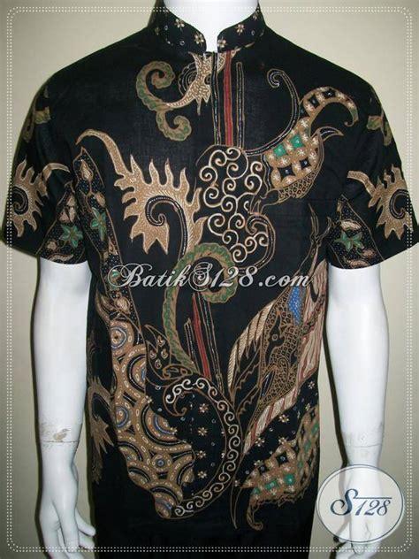 Kemeja Batik Pria Kerah Sanghai kemeja batik pria kerah shanghai batik tulis elegan modern ld569t m toko batik 2018