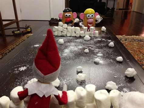 On Shelf Snowball Fight by On The Shelf Edition Snowball Fight On