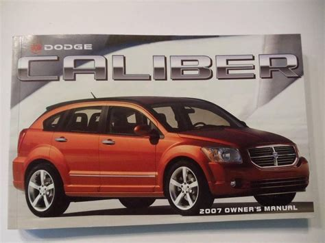 manual repair autos 2011 dodge caliber free book repair manuals 34 dodge ebay autos post