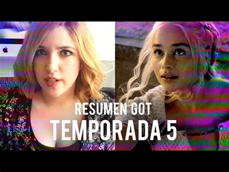 Resumen 4 Temporada Of Thrones by Of Thrones Resumen Temporada 5