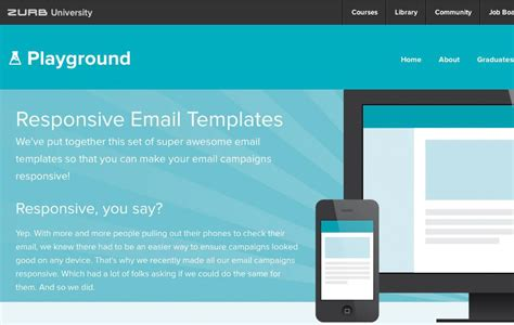 32 Responsive Email Templates For Your Small Business How To Make A Responsive Email Template
