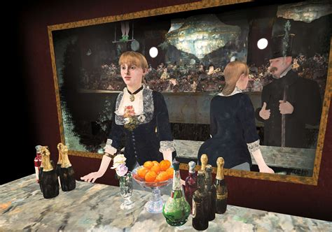 At The experience manet s a bar at the folies berg 232 re like