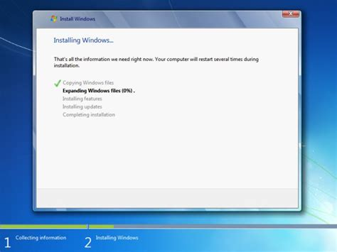 start your computer from a windows 7 installation disc or windows 7 installation guide