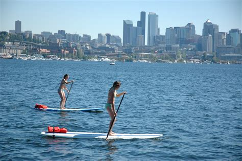 boarding seattle suping on lake union jconnect