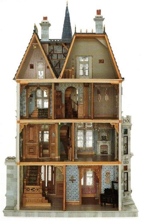 dollhouse perfection papercraft juxtapost