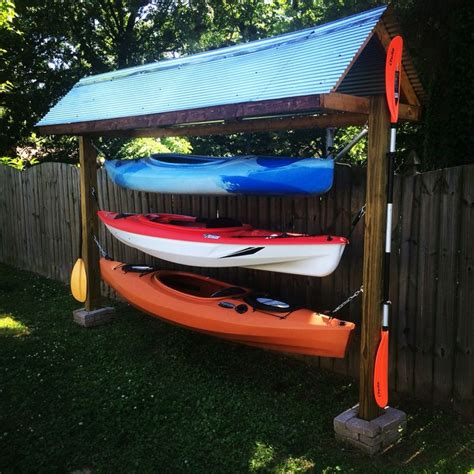 Backyard Kayak Rack 25 Best Ideas About Kayak Storage On Kayak
