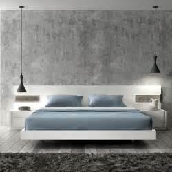 Bedroom Bed Amora Modern Platform Bed Cadomocdern Com