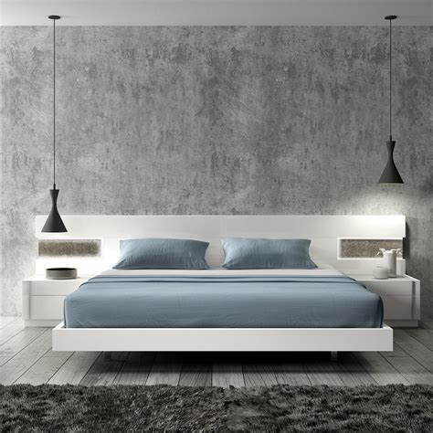 Bedroom Dressers And Headboards Amora Modern Platform Bed Cadomocdern