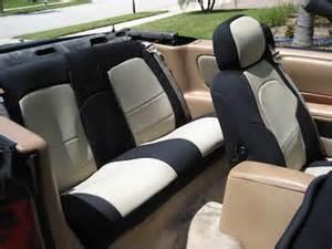 Chrysler Sebring Seats 1997 Chrysler Sebring Convertible Neoprene Custom Seat