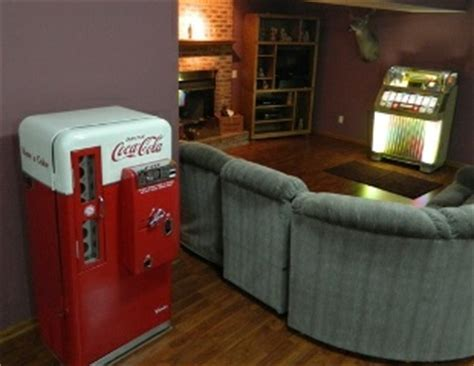 Darrell's Man Cave Soda Machine: Restored Cavalier 56