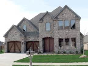 stone house designs and floor plans country brick homes homes with brick and stone front