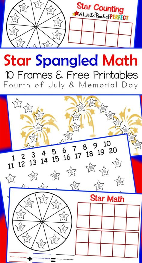 printable math games for kindergarten and first grade activities free printables and memorial day on pinterest