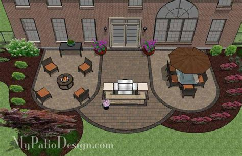 Patio Design For Entertaining With Grill Station Bar 900 My Patio Design