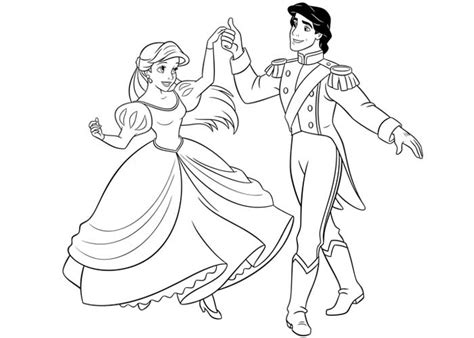 Ariel Coloring Pages Best Coloring Pages For Kids Princess Ariel And Eric Coloring Pages Printable