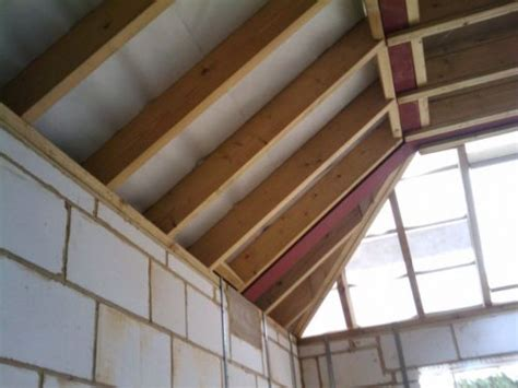 Insulating Flat Roof Ceiling by Insulating The Flat Roof And Tiling The Pitched Roof