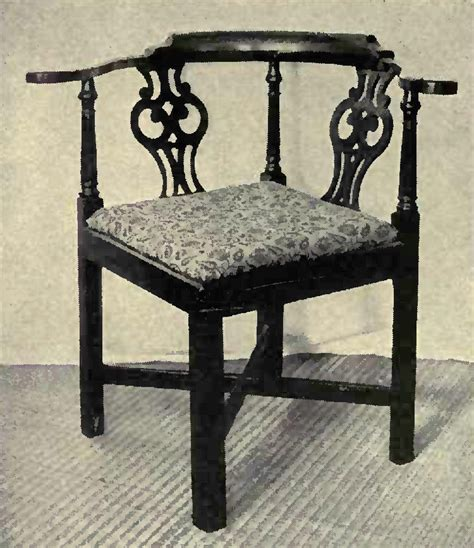 furniture style chippendale seat