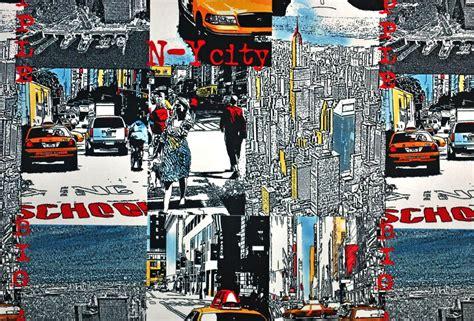 tissu microfibre new york city pour ameublement et