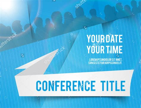 sle invitation cards conference free template 7 conference invitation templates free editable psd ai