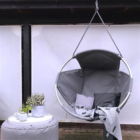 cocoon outdoor furniture cocoon outdoor hang chair by trimm copenhagen