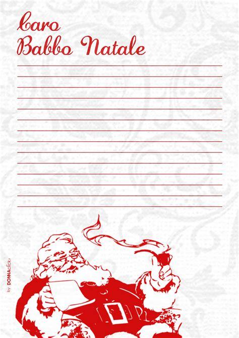lettere a babbo natale da stare lettere di babbo natale lettera a babbo natale da stare