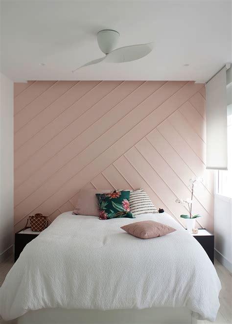 como pintar la pared del cabecero del dormitorio