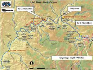 lower salt river arizona maps lower salt river tubing salt