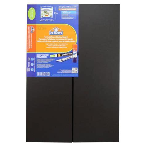 tri fold amazon com elmer s tri fold premium foam display board