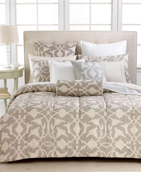 Love This Bedding Barbara Barry Poetical Comforter Sets Macys Bed Set