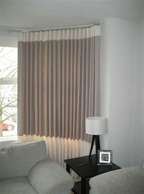 modern bay window curtains 42 best images about cutain on pinterest