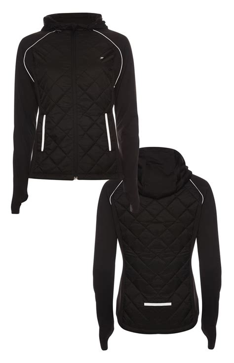 Primark Quilted Jacket by Look More Beautiful By Wearing This Black Quilted Workout
