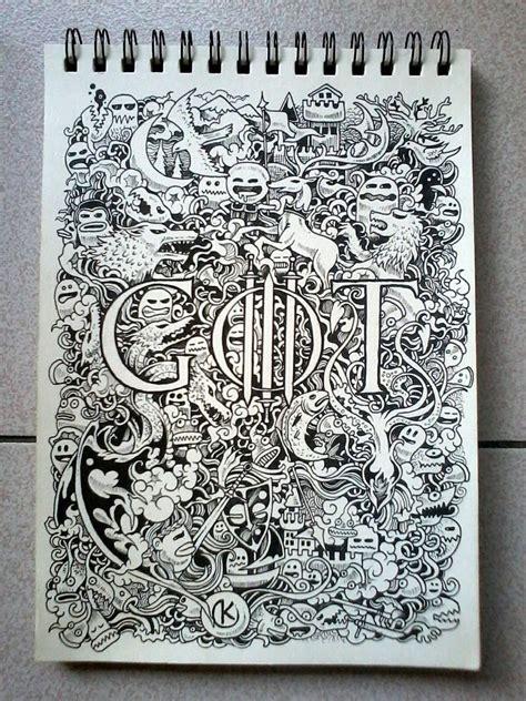 doodle best doodle of thrones by kerbyrosanes on deviantart